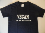 T-shirt vegan is an attitude