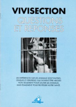Vivisection : questions et reponses